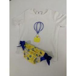 Bañador Camiseta + Braguita...